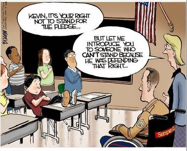 Should Children Recite the Pledge of Allegiance?
